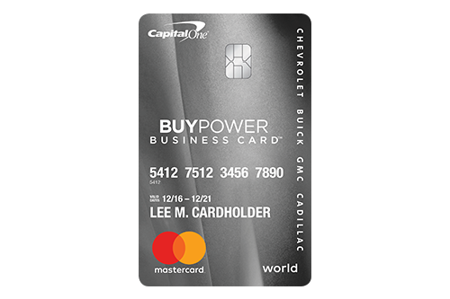 5 business credit cards with 0 apr promotional financing nav gm buypower business card from capital one reheart Images